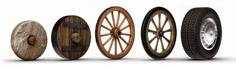 ruedas desde los inicios